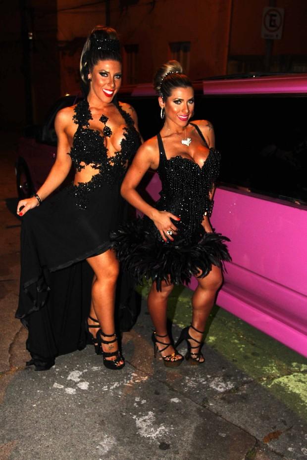 Ana Paula e Tati Minerato mostram looks (Foto: Paduardo/Ag News)