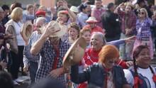 Arraiá da RPC animou o sábado (25) de sol, em Curitiba (Luiz Renato Correa/RPC)