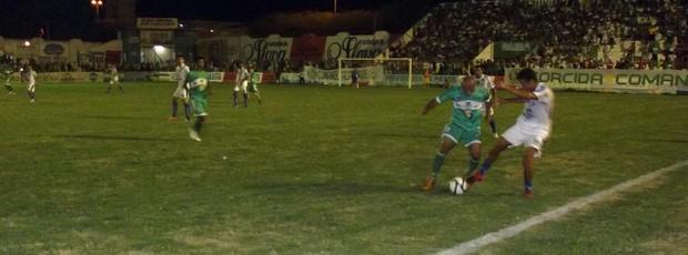 Nacional de Patos 1 x 2 CSP, no Estádio José Cavalcanti (pela 6ª rodada do Campeonato Paraibano 2013) (Foto: Damião Lucena / Globoesporte.com/pb)