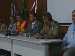 Autoridades intensificam assistência aos desabrigados em Rondônia (Foto: Assem Neto)