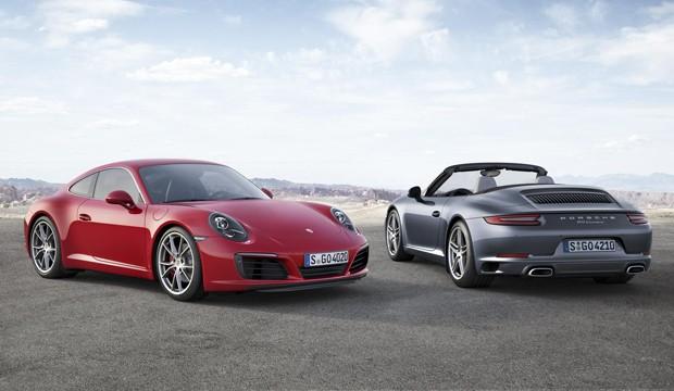 Novo Porsche 911 Carrera estreia no Salão de Frankfurt (Foto: Divulgação)