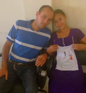 Adilson participou do encontro com a esposa Rute (Foto: Eliete Marques/G1)
