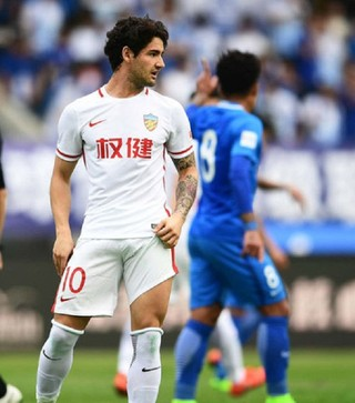 Alexandre Pato Tianjin Quanjian (Foto: Reprodução)