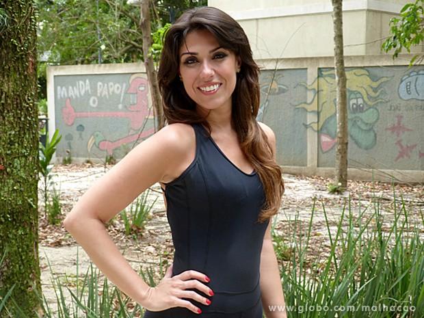 Marciah Manccini pratica exercícios com regularidade e é apaixonada por dança (Foto: Malhação / TV Globo)