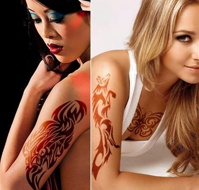 Tattoo N' Piercing Saga permite a aplicação de brincos virtuais, mas é cheio de anúncios (Foto: Reprodução/Felipe Demartini)