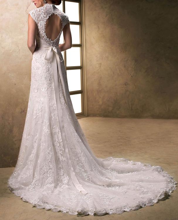 Vestido de noiva  (Foto: Divulgação )