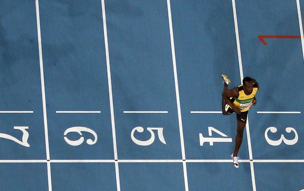 Usain Bolt perfil carrossel (Foto: Getty Images)