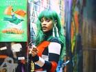 Rihanna posa poderosa para ensaio futurista em Nova York