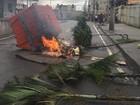 Protesto fecha via de Madureira após morte de jovem em comunidade