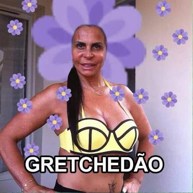 Gretchen se tornou a rainha dos memes (Foto: Reprodução/Instagram)