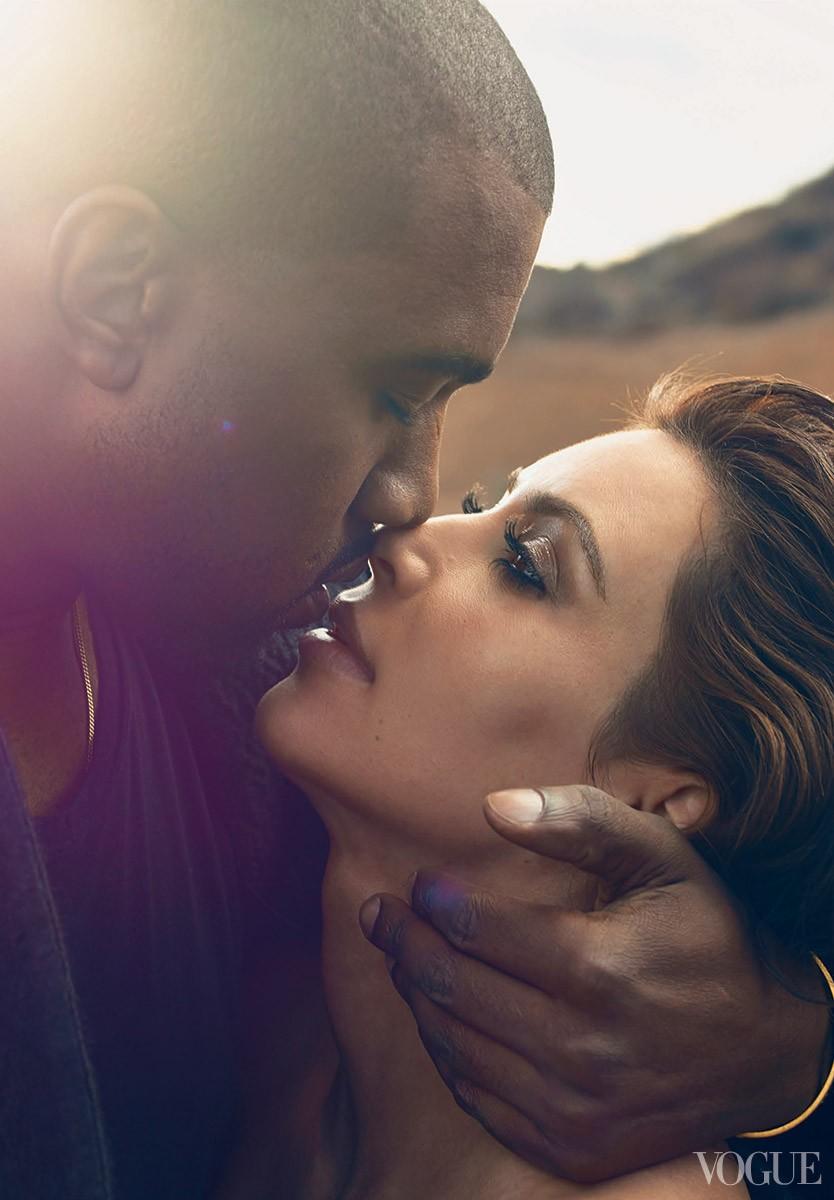 Kim e Kanye (Foto: Reprodução)
