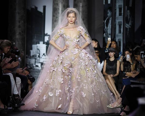 A noiva delicada de Elie Saab (Foto: Getty Images)