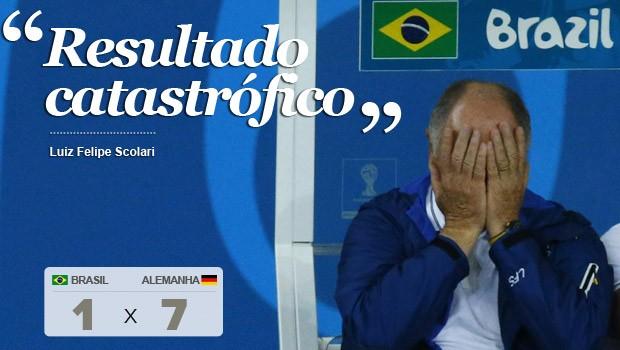'Eu fui o responsável', diz Felipão (Reuters)