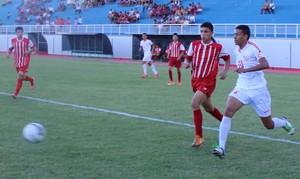 Bangu e União do Calafate se enfrentam na abertura da Copa Sub-17, no Florestão (Foto: João Paulo Maia)