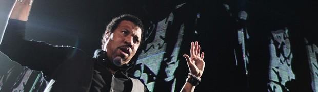 Lionel Richie (Foto: Daigo Oliva/G1)
