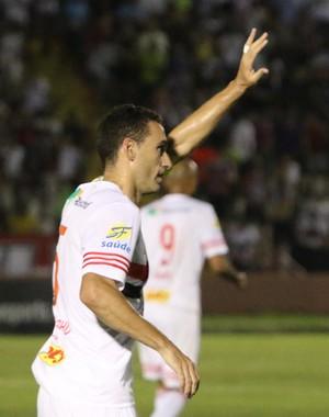 César Gaúcho, Botafogo-SP (Foto: Rogério Moroti / Agência Botafogo)