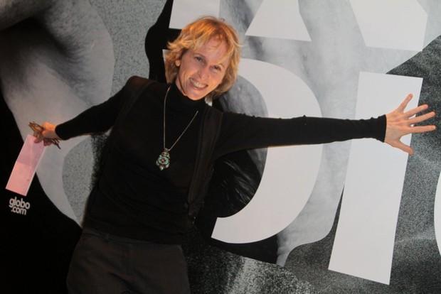 Deborah Colker na estreia da peça Incêndios (Foto: Anderson Borde / AgNews)