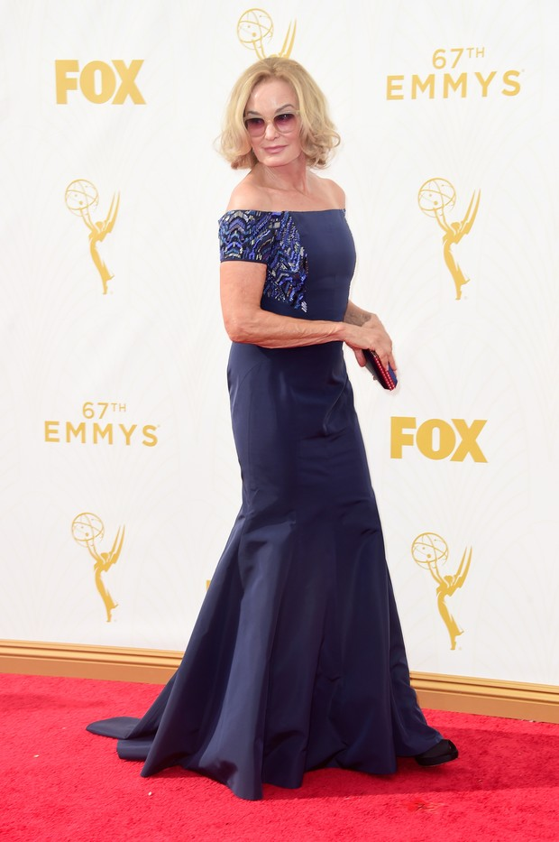 Jessica Lange no Emmy Awards (Foto: Getty Images)