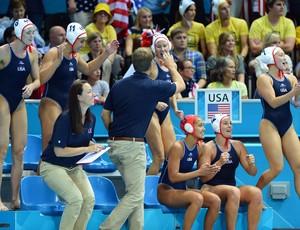 Polo aquático EUA (Foto: AFP)