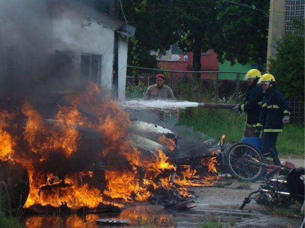 Protesto após morte de criança em Itabuna, na Bahia (Foto: Davidson Samuel /Blog Pimenta)