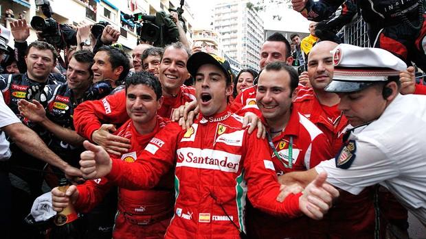 GP de Mônaco, F1, Alonso (Foto: Agência AP)