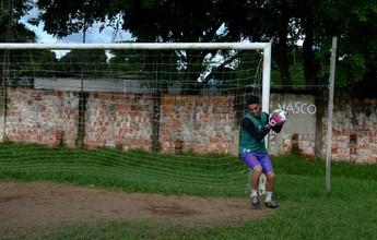 Aos 19 anos, goleiro Nathan estreia  na elite do Acreano, pelo Vasco-AC