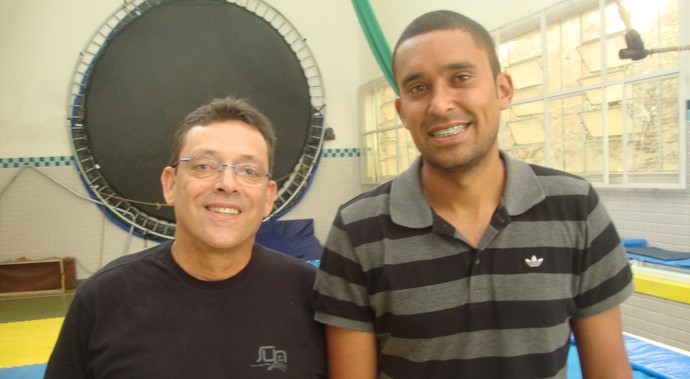 Paulo Garcez e Diego Almeida Juiz de Fora (Foto: Bruno Ribeiro)