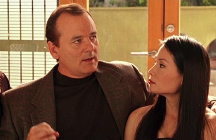 Bill Murray e Lucy Liu em 'As Panteras: Detonando' (2003) (Foto: Divulgação)