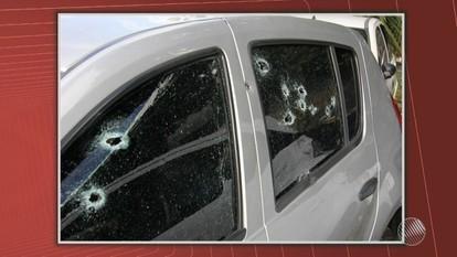 PM é baleado dentro do próprio carro em Lauro de Freitas na manhã desta quarta (18)