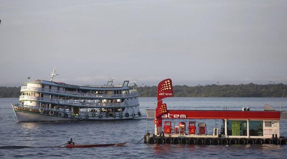 Viagens mais demoradas do País são feitas pelos rio da Amazônia  (Foto: Estadão Conteúdo)