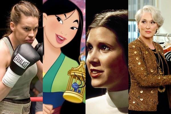 Personagens femininas que fizeram história no cinema (Foto: Divulgação)