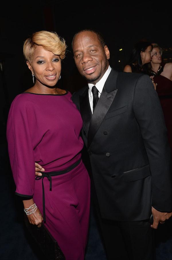 A cantora Mary J. Blige com o ex-marido (Foto: Getty Images)