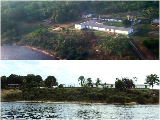 Local da fábrica fica às margens do Rio Negro, no município de Barcelos, a 399 km de Manaus  (Foto: Foto: Divulgação/Amazon Air Water)