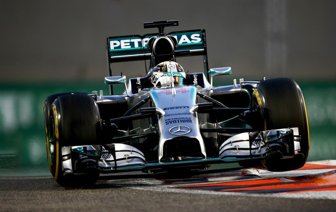 Lewis Hamilton F1 GP Abu Dhabi (Foto: Getty Images)