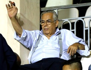Eurico Miranda, Vasco X Vila Nova (Foto: Cezar Loureiro / Agência o Globo)