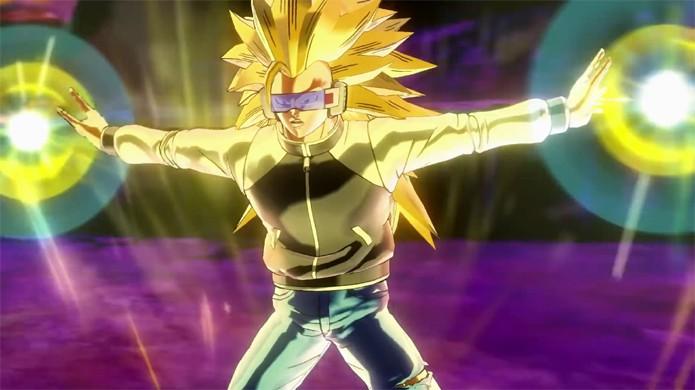 Em Dragon Ball Xenoverse 2 seu personagem original poderá dominar a transformação em Super Sayajin 3 (Foto: Reprodução/YouTube)