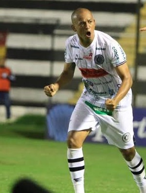 Reinaldo Alagoano, atacante do ASA (Foto: Valdeir Góis/Ascom ASA)