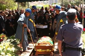 Funeral de Hebe Camargo (Foto: Iwi Onodera/ EGO)