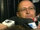 'Vamos trabalhar de manga arregaçada', diz Geraldo Alckmin
