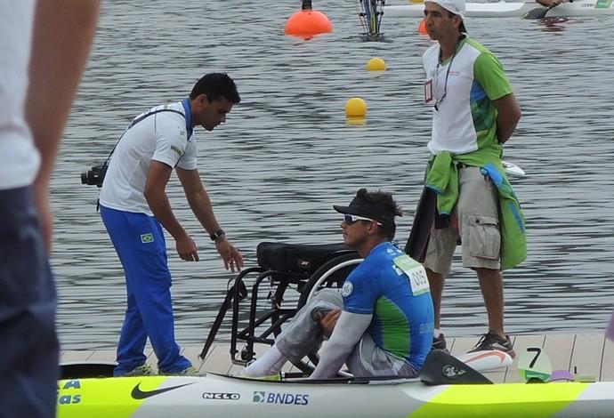 Fernando Fernandes Paralimpíadas Canoagem (Foto: Thales Soares)