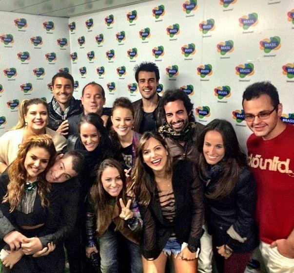 Thiago Martins, Paloma Bernardes, Ricardo Pereira, Paola Oliveira e outros no  Rock in Rio Lisboa (Foto: Instagram / Reprodução)