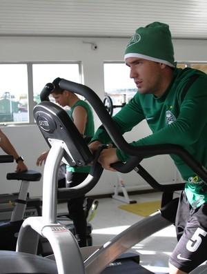 Willian Coritiba academia (Foto: Divulgação / Site oficial do Coritiba)