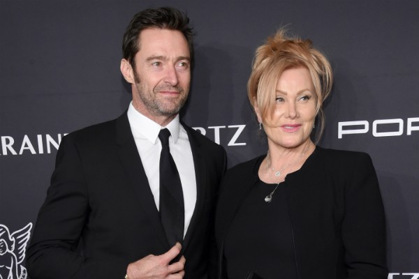 O ator Hugh Jackman e a esposa, a atriz Deborra-Lee Furness (Foto: Getty Images)