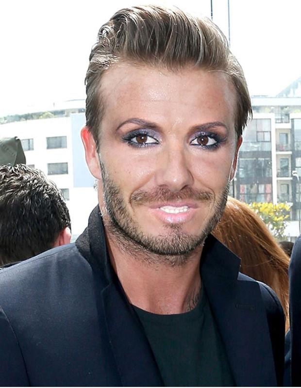David Beckham e Victoria Beckham (Foto: Reprodução/The Sun)