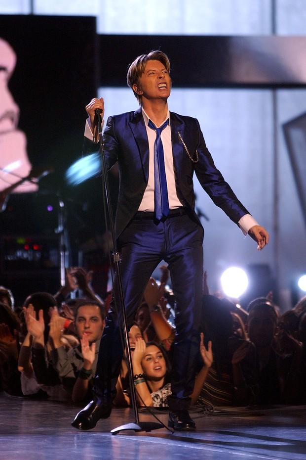 David Bowie durante um show em 2012 (Foto: Getty Images)