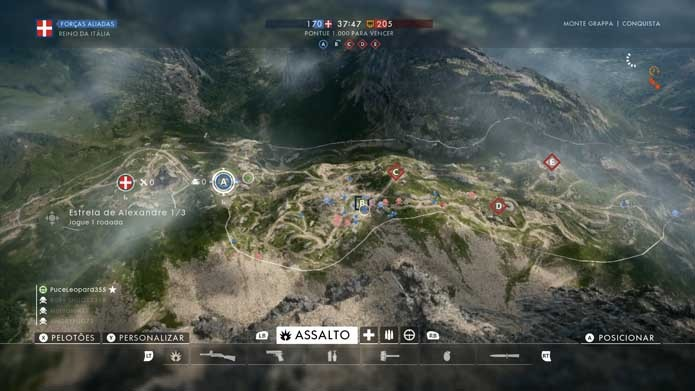Mapa está mais caprichado em Battlefield 1 (Foto: Reprodução/Murilo Molina)