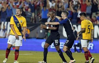 Em amistoso pré-Copa América, EUA vencem Equador com gol no fim