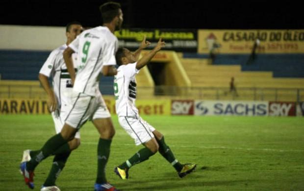 Icasa comemora gol contra Boa Esporte Série B Romeirão (Foto: Cícero Valério/Agência Miséria de Comunicação)