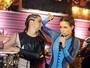 Nanda Costa canta em evento de Bruno Gissoni e Rafael Zulu