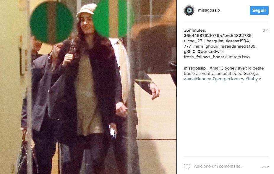 Amal Clooney (Foto: Reprodução/Instagram)